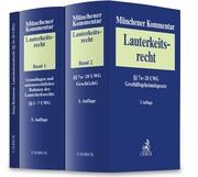 Münchener Kommentar zum Lauterkeitsrecht (UWG) Gesamtwerk