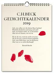 C.H.Beck Gedichtekalender: Kleiner Bruder 2019