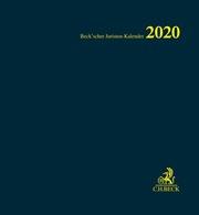 Beck'scher Juristen-Kalender 2020