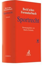 Beck'sches Formularbuch Sportrecht