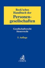 Beck'sches Handbuch der Personengesellschaften