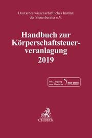 Handbuch zur Körperschaftsteuerveranlagung 2019