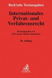 Internationales Privat- und Verfahrensrecht