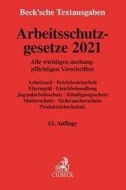 Arbeitsschutzgesetze 2021