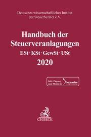 Handbuch der Steuerveranlagungen 2020