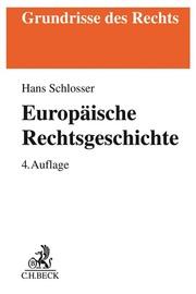 Europäische Rechtsgeschichte