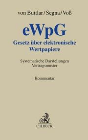 Gesetz über elektronische Wertpapiere - eWpG -
