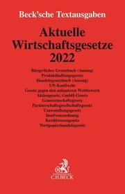 Aktuelle Wirtschaftsgesetze 2022