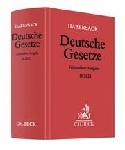 Deutsche Gesetze Gebundene Ausgabe II/2021