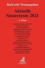 Aktuelle Steuertexte 2021