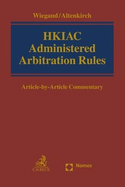 HKIAC Administered Arbitration Rules
