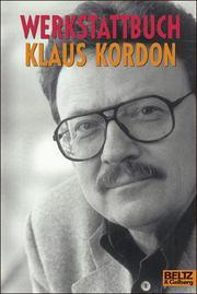 Werkstattbuch Klaus Kordon