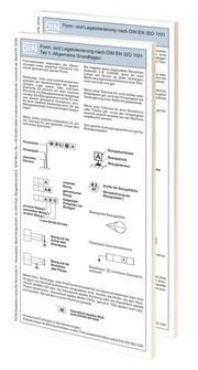 Form- und Lagetolerierung nach DIN EN ISO 1101