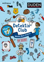 Mach 10! Detektivclub - Cover