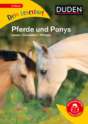 Dein Lesestart: Pferde und Ponys