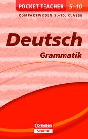 Pocket Teacher Deutsch - Grammatik 5.-10. Klasse