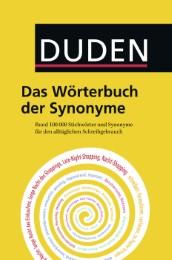Duden - Das Wörterbuch der Synonyme