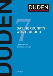 Duden - Das Herkunftswörterbuch