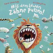 Hilf dem Löwen Zähne putzen!