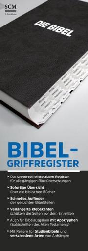 Bibel-Griffregister weiß