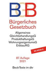 Bürgerliches Gesetzbuch, BGB