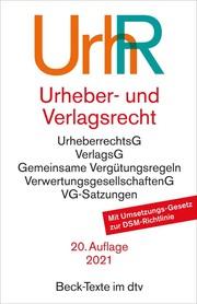 Urheber- und Verlagsrecht/UrhR