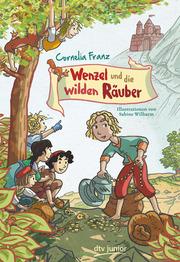 Wenzel und die wilden Räuber - Cover