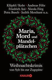 Maria, Mord und Mandelplätzchen - Cover