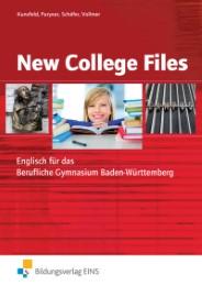 New College Files - Englisch für das Berufliche Gymnasium in Baden-Württemberg - Cover
