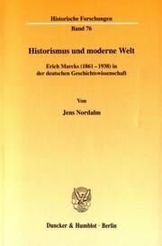 Historismus und moderne Welt