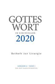 Gottes Wort im Kirchenjahr 3/2020 - Beiheft