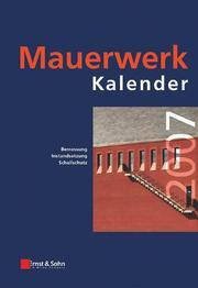Mauerwerk-Kalender 2007