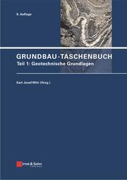 Grundbau-Taschenbuch 1
