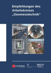 Empfehlungen des Arbeitskreises 'Geomesstechnik' - Cover