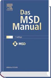 Das MSD-Manual der Diagnostik und Therapie - Cover