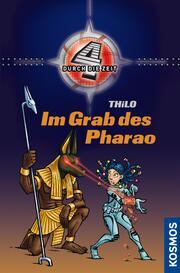 Vier durch die Zeit, 6, Im Grab des Pharao - Cover