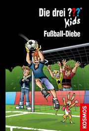 Die drei ??? Kids - Fußball-Diebe - Cover