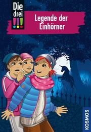 Die drei !!! - Legende der Einhörner - Cover