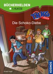 TKKG Junior - Die Schoko-Diebe - Cover