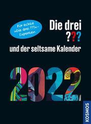 Die drei ??? und der seltsame Kalender 2022 - Cover