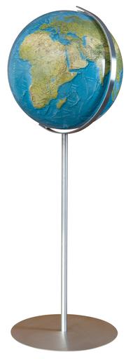 Duorama Leuchtglobus Standmodell OID Edelstahl