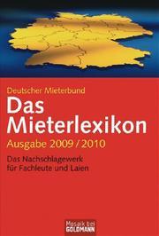 Das Mieterlexikon 2009/2010