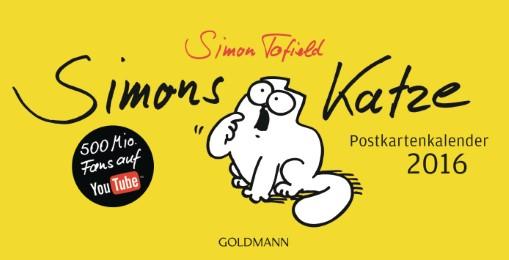 Simons Katze 2016