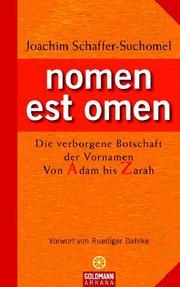 nomen est omen - Cover