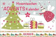 Hosentaschen-Adventskalender illustriert