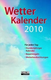 Der kleine Wetterkalender