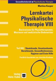 Lernkartei Physikalische Therapie VIII