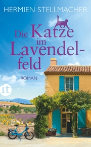 Die Katze im Lavendelfeld - Cover