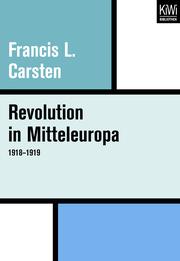 Revolution in Mitteleuropa 1918-1919
