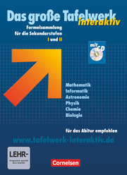 Das große Tafelwerk interaktiv - Formelsammlung für die Sekundarstufen I und II - Allgemeine Ausgabe